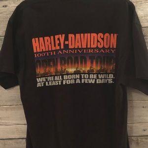 Harley-Davidson Men's Vintage T-Shirt Size Large